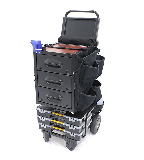 Mobile-Shop SD Express Cart with Vise (without Tool Bag)