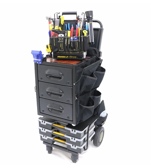 Mobile-Shop Complete SD Express Cart with Vise
