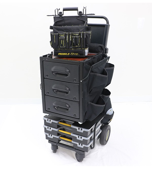 Mobile-Shop SD Express Cart- Empty  (Tool Bag included but empty)