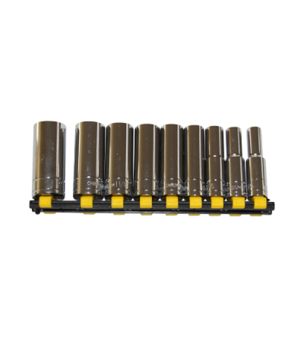 No. 070 - Deep-Well Socket Set With Rack