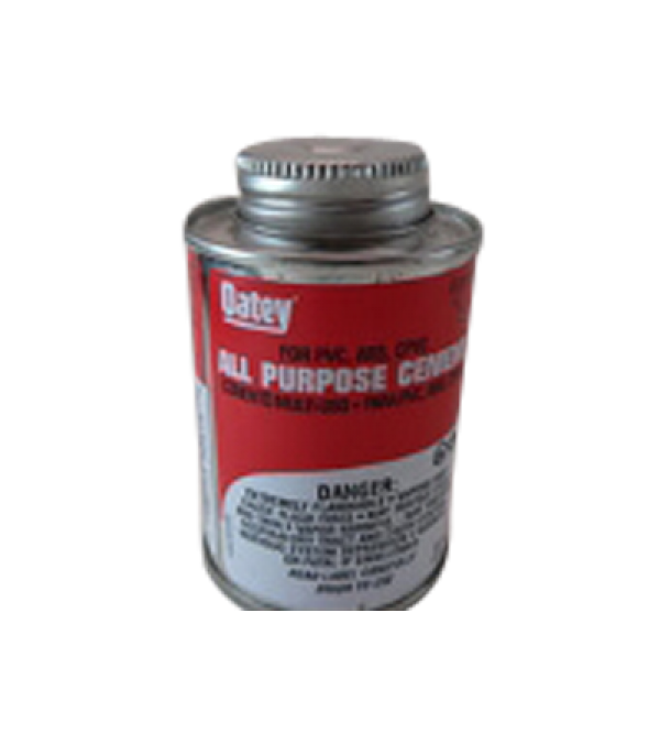 P135 - All-purpose plastic pipe cement (2 ea)