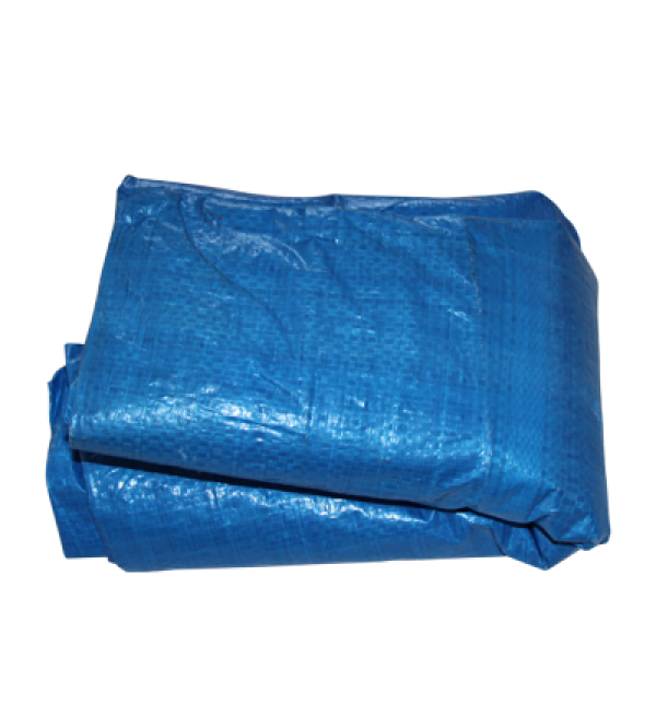 No. 123 - 6' x 8' Blue Tarp