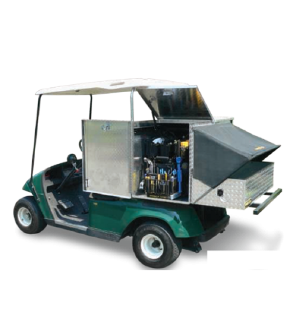 Mobile-Shop Golf Cart Utility Bed