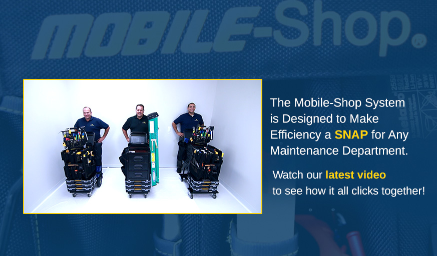 Mobile Ground Maintenance Tool Carts