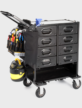 The Mobile Shop Capacity Cart