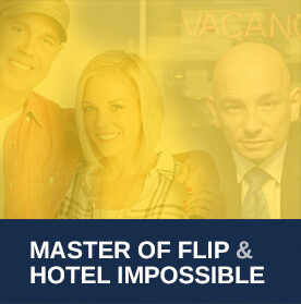 As Seen on Hotel Impossible and Masters of flip