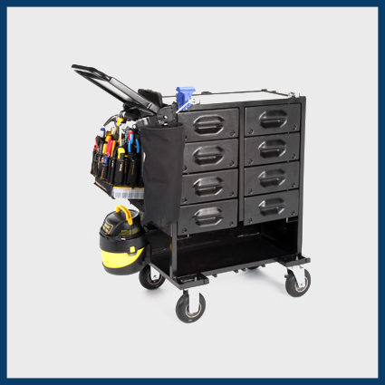Mobile Shop Capacity Cart