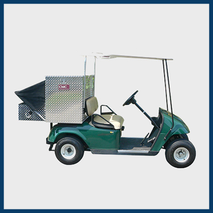 Mobile Shop Colf Cart Utility Bed